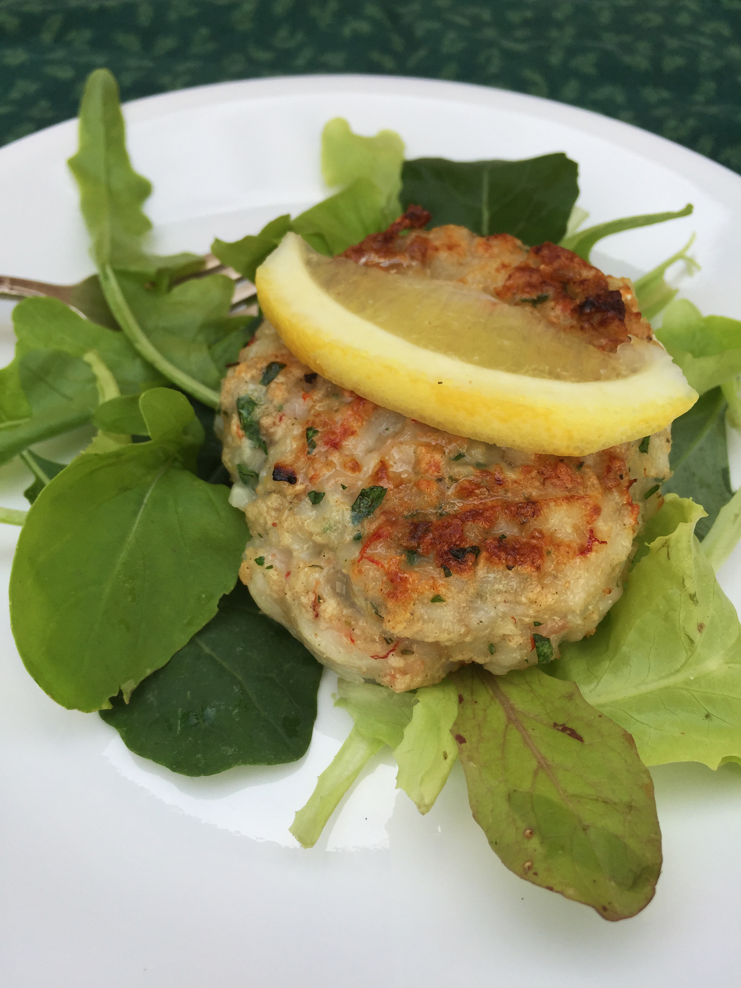 Garlic Herb Seafood Burgers Saladmaster Recipes