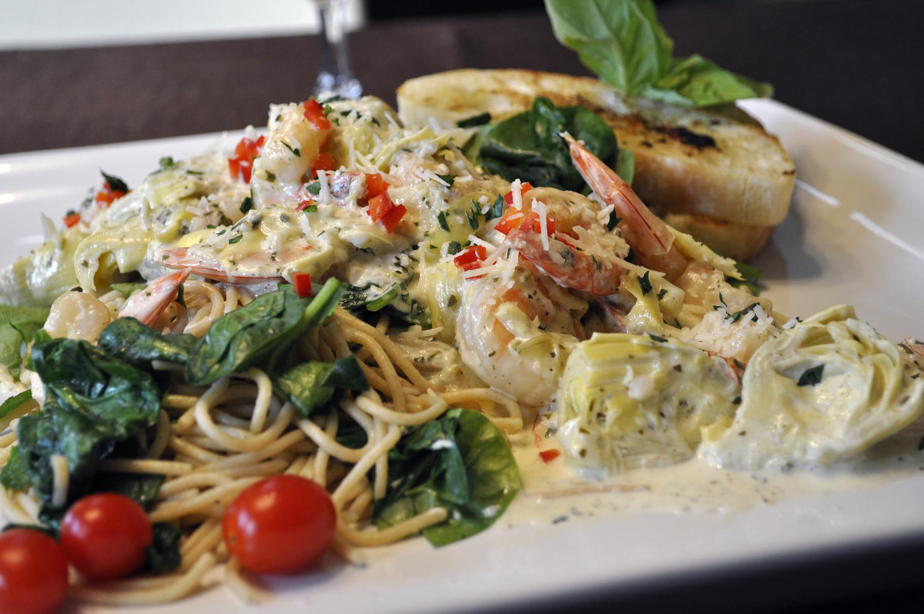 picture Florentine Shrimp and Pasta