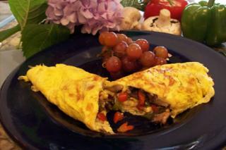 Saladmaster Recipe Colossal Mushroom Omelet