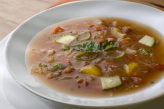 Saladmaster Recipe Minestrone Soup by Marni Wasserman