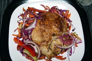 Saladmaster Healthy Solutions 316Ti Cookware: Pork Chops