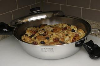 Saladmaster Blueberry Pecan French Toast Casserole