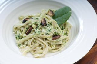 Saladmaster Healthy Solutions 316Ti Cookware: Brown Rice Pesto Pasta by Marni Wasserman