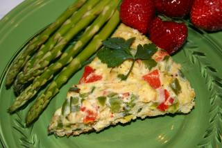 Saladmaster Healthy Solutions 316 Ti Cookware: Calico Pepper Frittata