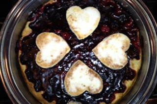 Saladmaster Healthy Solutions 316 Ti Cookware: Cherry Berry Deep Dish Pie