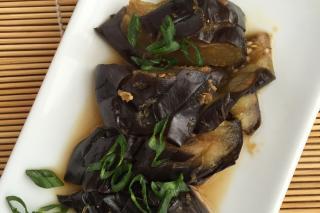 Japanese Style Braised Eggplant