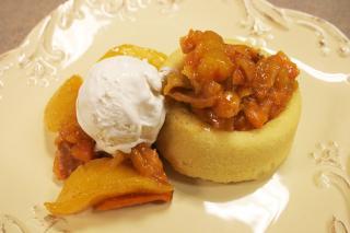 Saladmaster 316Ti Recipe: Just Peachy Sweet Potatoes