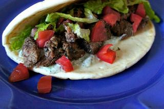 Saladmaster Healthy Solutions 316Ti Cookware: Beef Gyros with Tzatziki Sauce