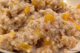 Saladmaster Recipe Whole Grain Cereal with Squash