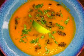 Saladmaster 316Ti Stainless Steel Recipe - Coconut Carrot Soup with Forbidden Rice