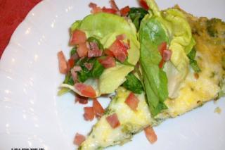 Saladmaster 316Ti Recipe Broccoli Frittata with BLT Salad