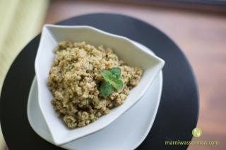 Saladmaster Healthy Solutions 316Ti Cookware: Quinoa Surprise Salad by Marni Wasserman