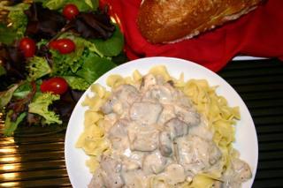 Saladmaster Healthy Solutions 316 Ti Cookware: Russian Beef Stroganoff
