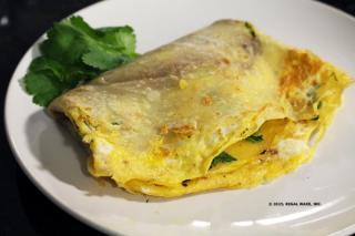 Saladmaster Recipe Savory Chine Crepe (Jian Bing)