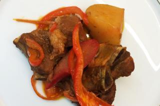 how to cook pork afritada filipino style