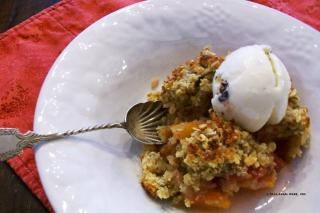 Saladmaster Recipe Stone Fruit Crisp by Cathy Vogt