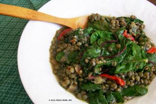 Saladmaster Recipe Braised Lentil Stew by Cathy Vogt