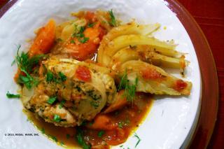 Saladmaster Recipe Chicken and Fennel Stew by Cathy Vogt