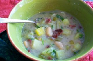 Saladmaster Recipe Chunky Vegetable Chowder by Cathy Vogt