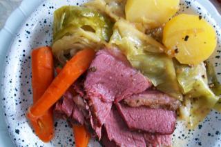 Saladmaster Recipe Corned Beef Brisket & Vegetables by Cathy Vogt