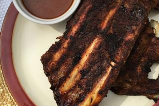 Saladmaster pork ribs dry rub
