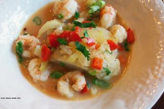 Saladmaster Recipe Fish Stew in Coconut Lime Broth by Cathy Vogt