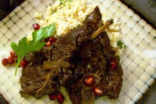 Saladmaster Recipe Braised Lamb with Pomegranate Sauce