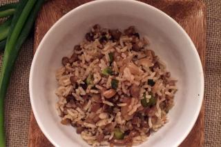 Quick and easy lentils and rice recipe