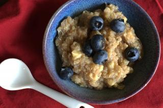 Saladmaster Recipe Quinoa & Blueberry Cereal