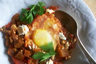 Saladmaster Recipe Shakshuka with Eggplant