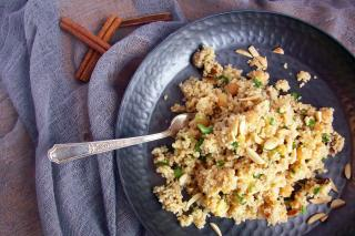 Saladmaster Recipe Spiced Couscous with Apricots