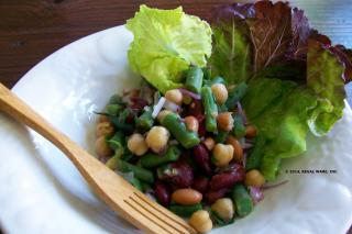 Saladmaster Recipe Summer Bean Salad by Cathy Vogt