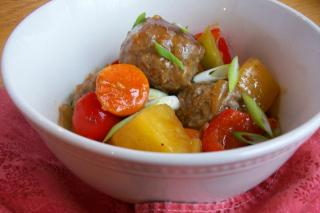 Saladmaster Recipe Sweet & Sour Meatballs