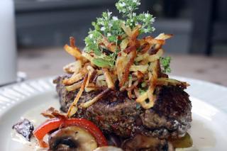Saladmaster Recipe Pepper Steak in Mushroom Sauce
