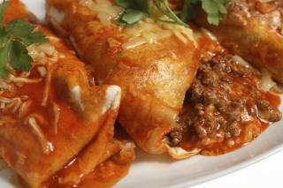 Saladmaster Recipe Beef & Cheese Enchiladas by Pete Updike