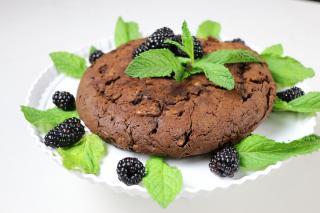 chocolate, brownie, cake,