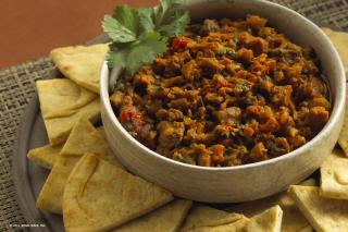 Saladmaster Recipe Indian Eggplant and Tomato Dip