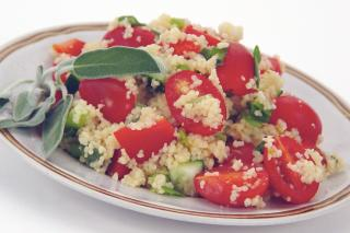 Saladmaster Recipes Greek Whole-Wheat Couscous