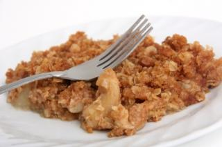 Saladmaster Healthy Solutions 316 Ti Cookware: Apple Crumble Dessert