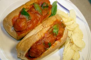 Saladmaster Healthy Solutions 316 Ti Cookware: Vegan Meatball Subs