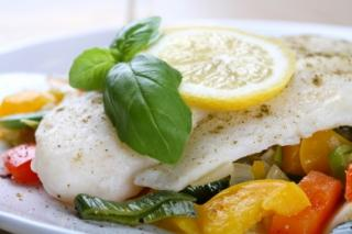 Saladmaster Recipe Haddock with Garden Vegetables