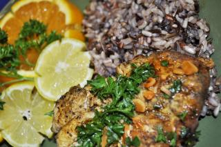 Saladmaster Recipe Lemon Garlic Chicken & Rice