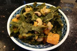 Saladmaster 316Ti Recipe: Black-Eyed Peas with Sweet Potatoes and Greens