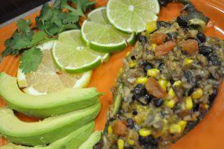 Saladmaster Recipe Festive Poblano Peppers