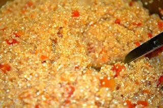 Saladmaster PCRM Recipe Mexican Quinoa