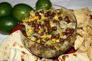 Saladmaster Recipe 316Ti Cookware: Black Bean, Corn and Jicama Salsa