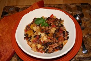 Saladmaster Healthy Solutions 316 Ti Cookware: Brazillian Black Bean Mango Stew