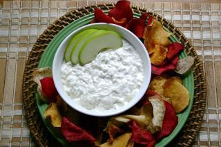 Saladmaster Healthy Solutions 316 Ti Cookware: Horseradish-Apple Dip