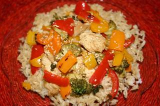 Saladmaster 316 Ti Recipe: Lime Chicken and Broccoli Stir-Fry