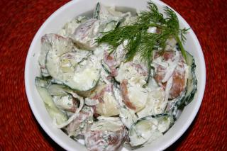 Potato-cucumber Salad with Dill